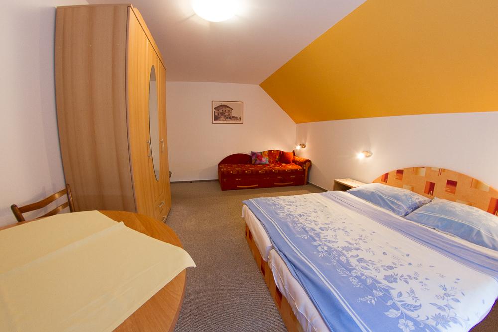 Apartmán č. 2 - Ložnice A